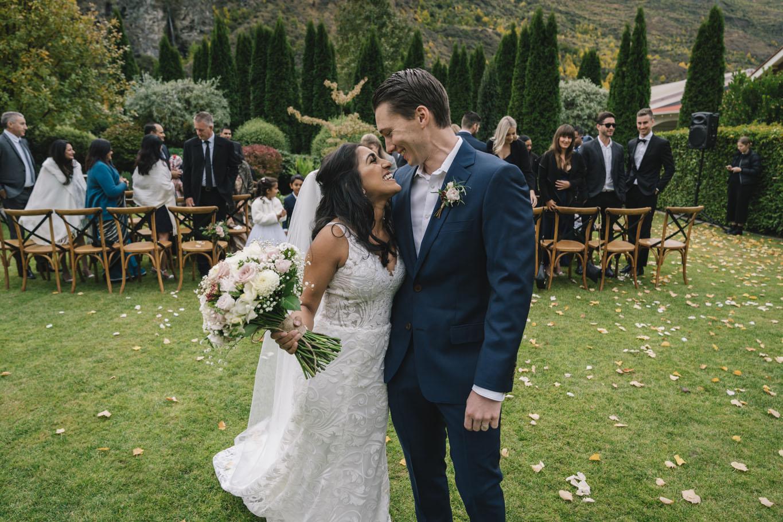 Bhavina & Anthony Hera Couture Bosset Wedding Dress