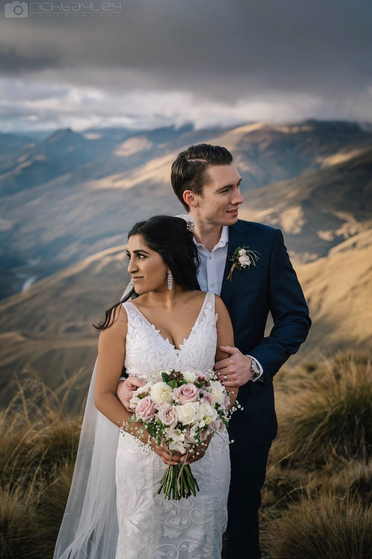 Bosset Wedding Dress Hera Couture Real Bride Queenstown Wedding