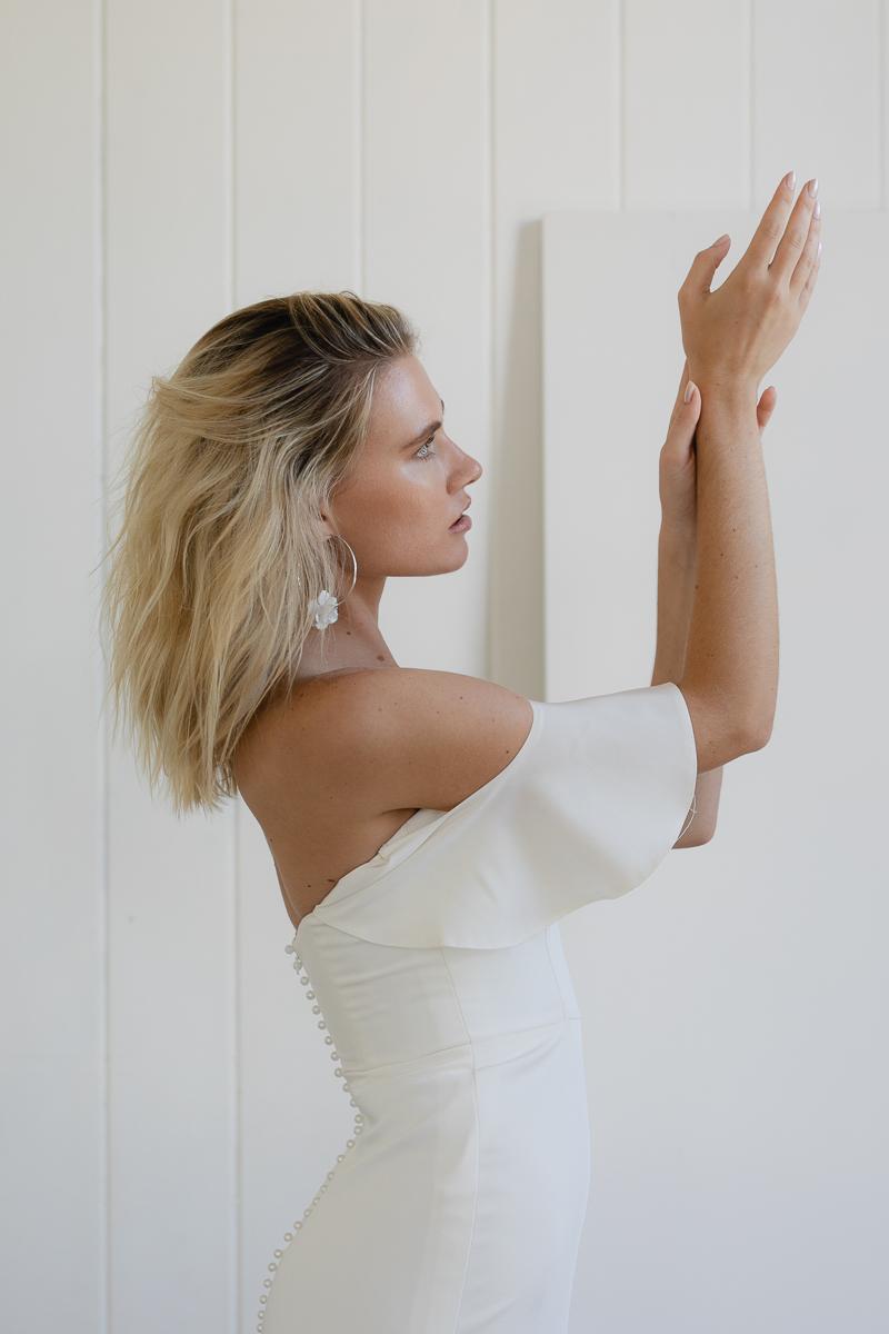 20190902 Hera Couture Corp Studio Day 1 Afternoon 1997Barnett Wedding Dress White
