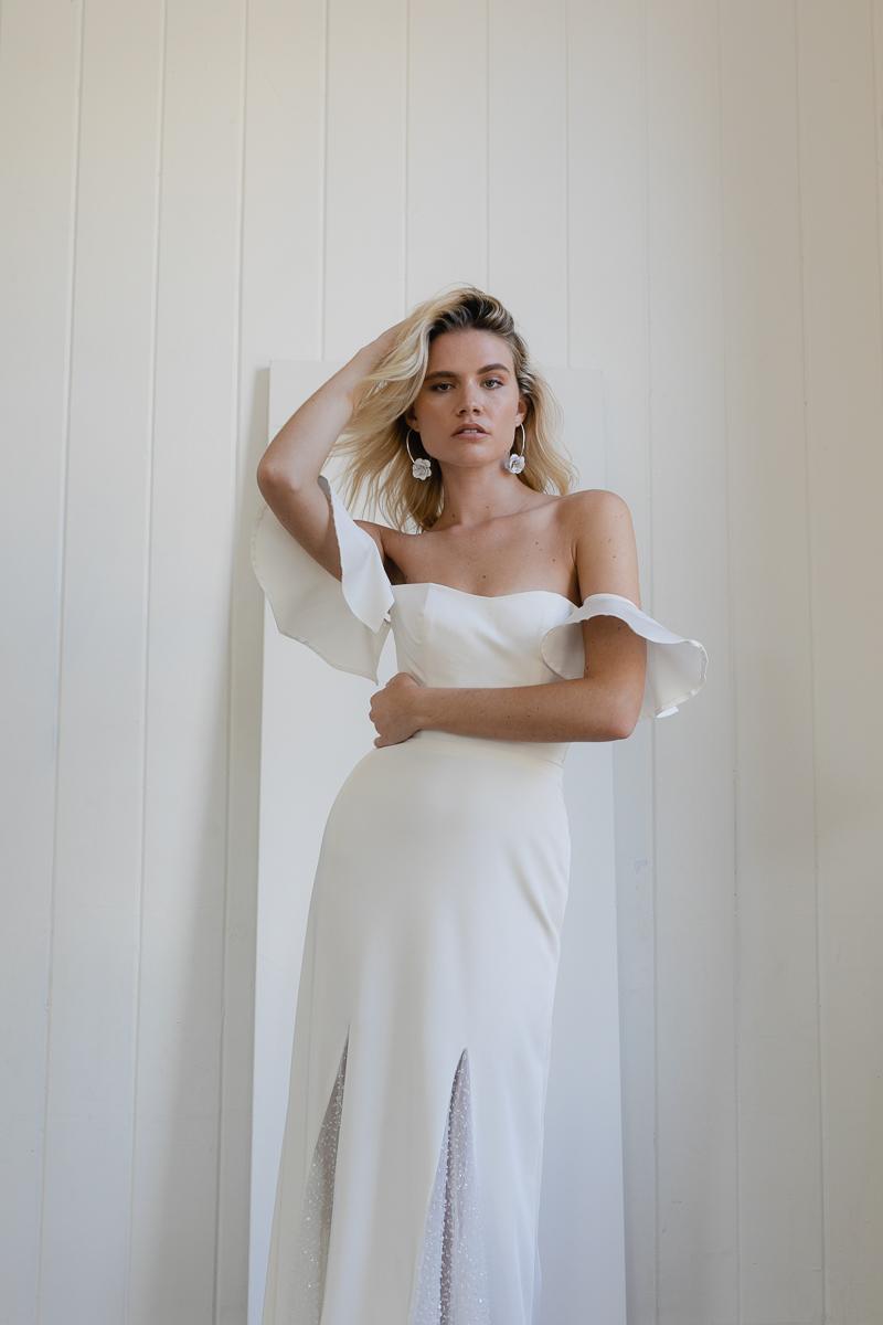 20190902 Hera Couture Corp Studio Day 1 Afternoon 2107Barnett Wedding Dress White
