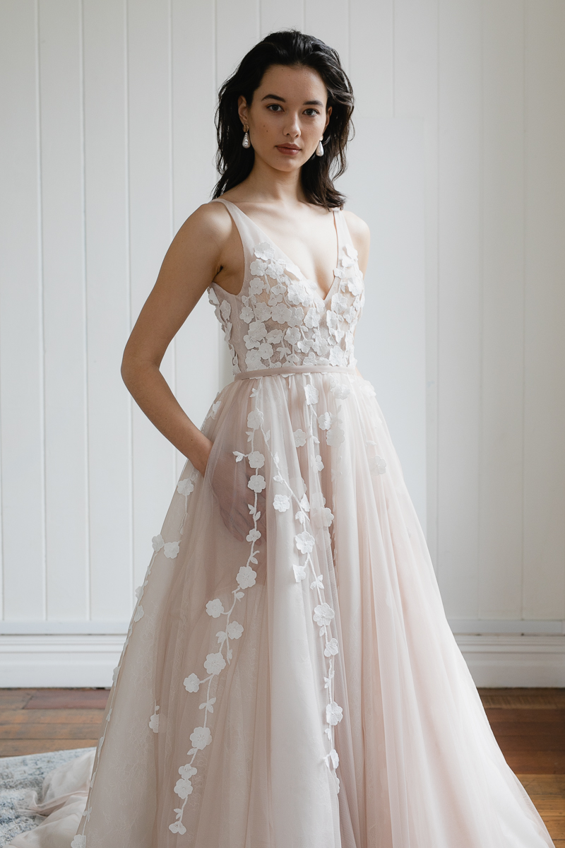 20190902 Hera Couture Corp Studio Day 2 3626Blush Lavant Wedding Dress