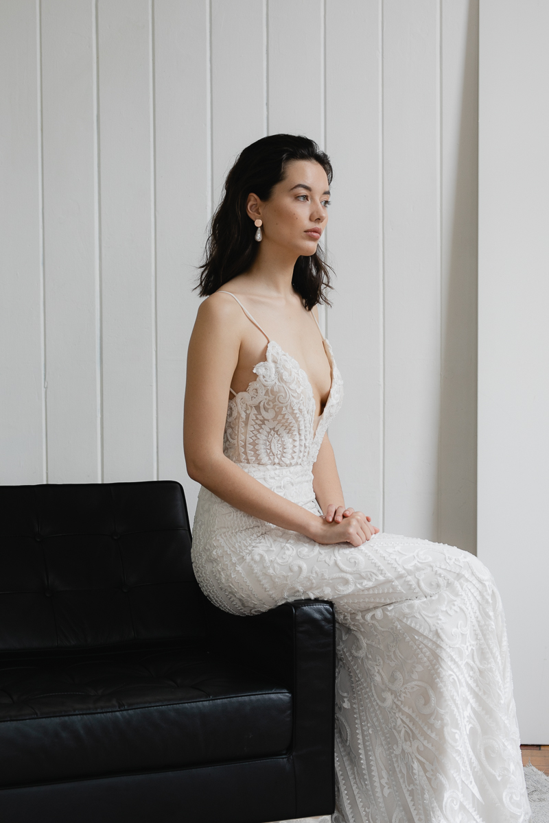 20190902 Hera Couture Corp Studio Day 2 3874Audrey Wedding Dress Fitted Beaded