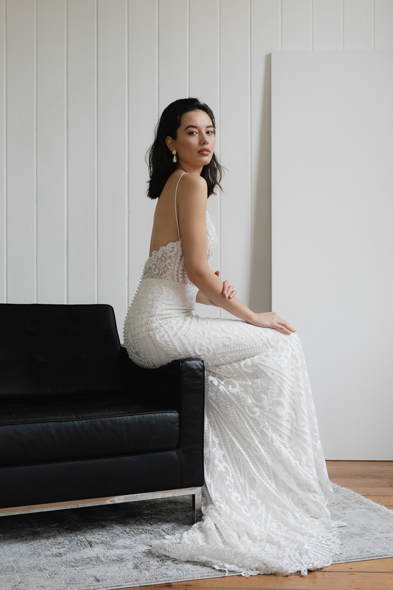 20190902 Hera Couture Corp Studio Day 2 3932Audrey Wedding Dress Fitted Beaded