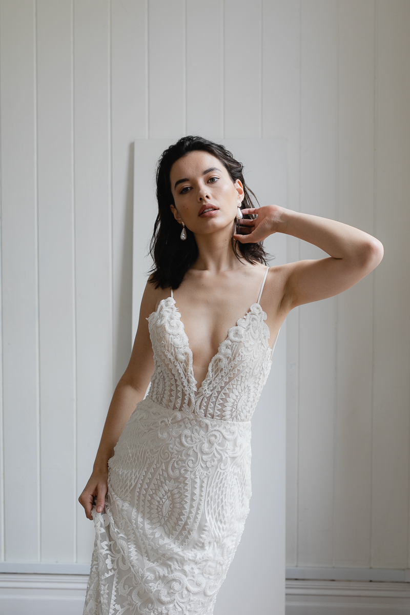 20190902 Hera Couture Corp Studio Day 2 3969Audrey Wedding Dress Fitted Beaded