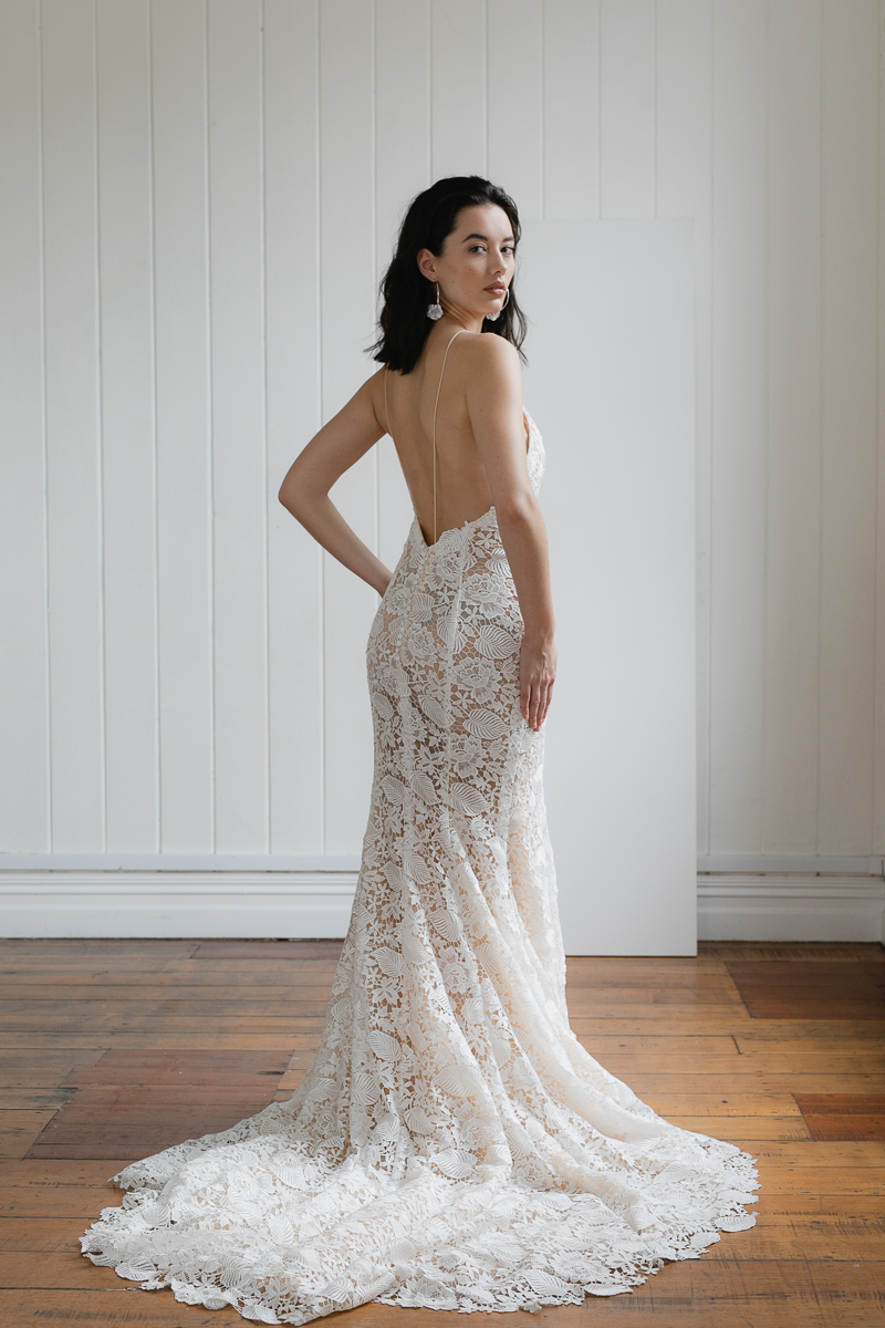 20190902 Hera Couture Corp Studio Day 2 4301Della Pieta Dress Fitted Beaded