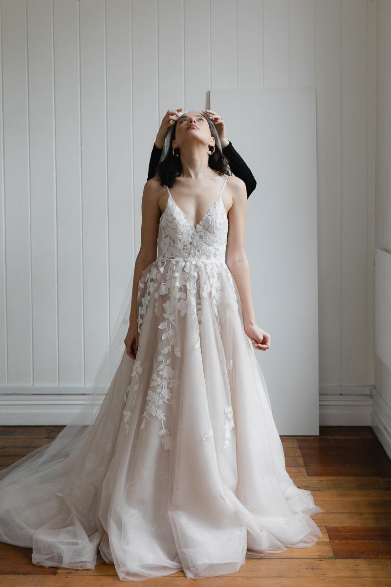 20190902 Hera Couture Corp Studio Day 2 4513Toussiant Blush Wedding Dress