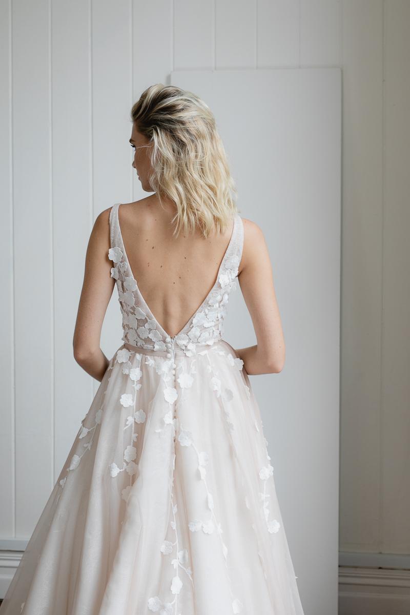 20190902 Hera Couture Corp Studio Day 2 6214Blush Lavant Wedding Dress