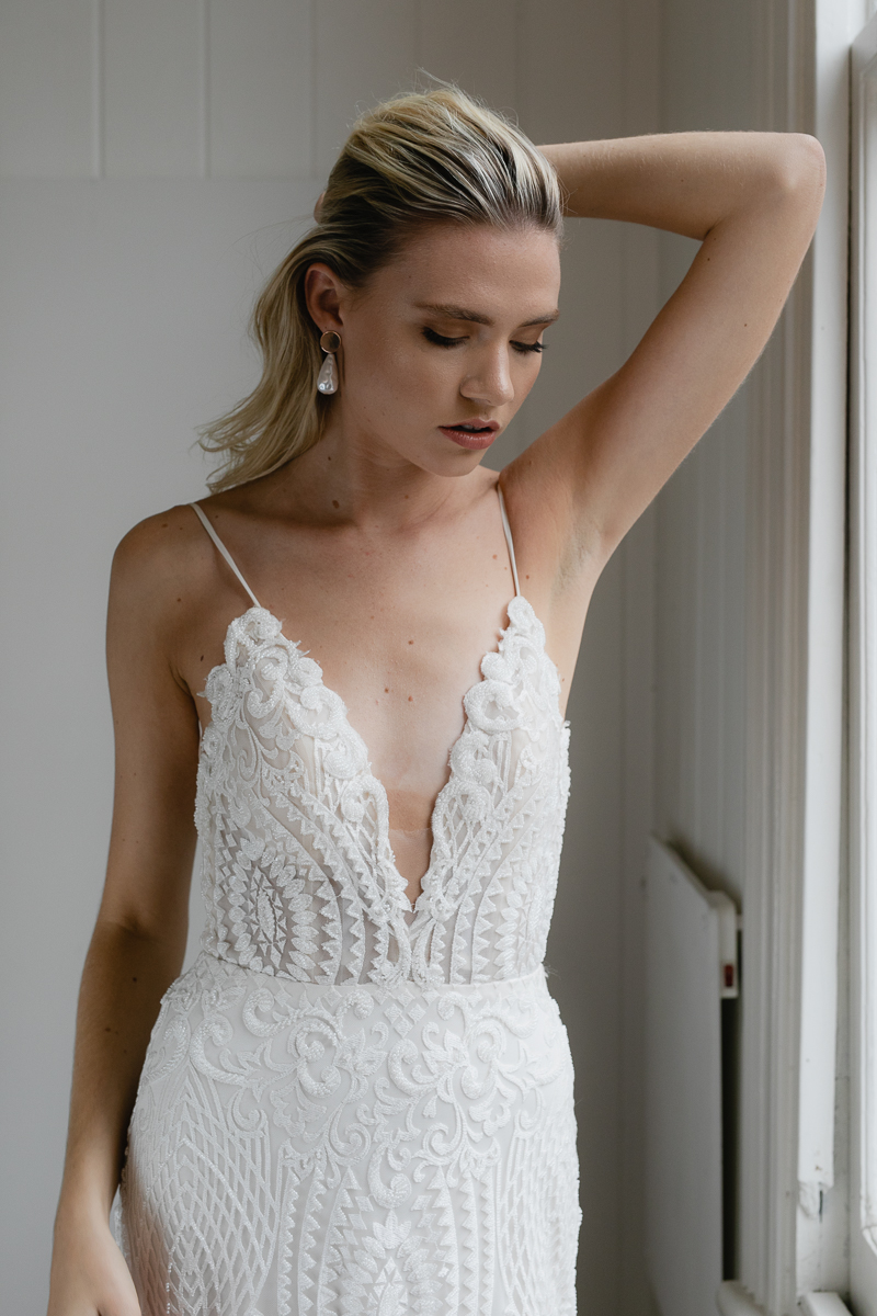 20190902 Hera Couture Corp Studio Day 2 6498Audrey Wedding Dress Fitted Beaded