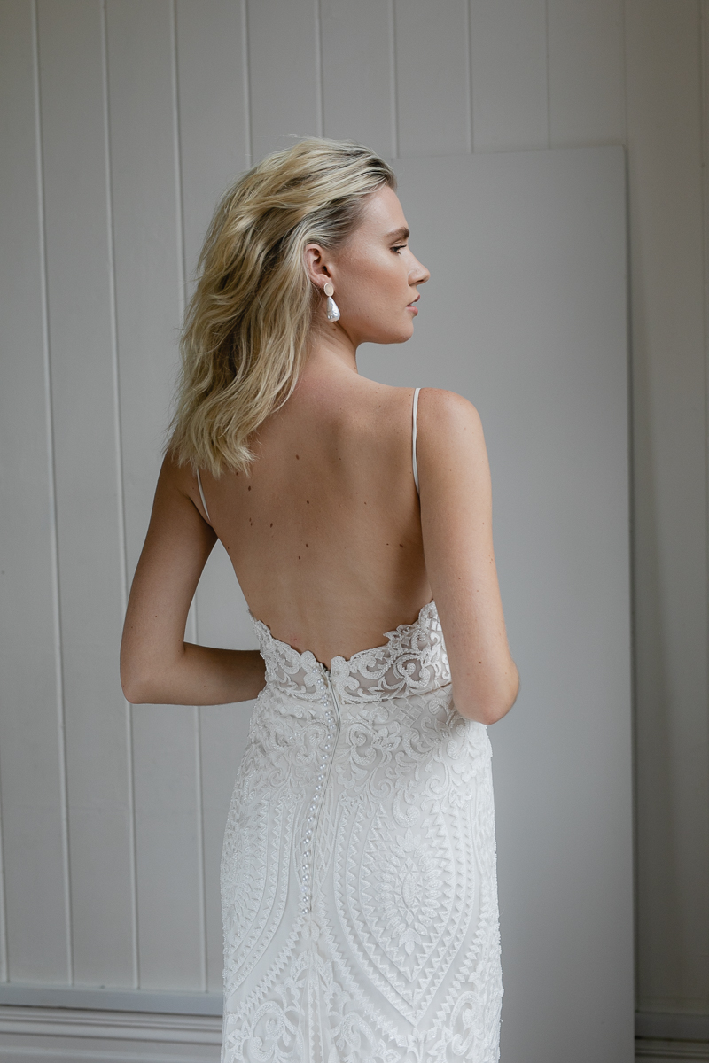 20190902 Hera Couture Corp Studio Day 2 6502Audrey Wedding Dress Fitted Beaded