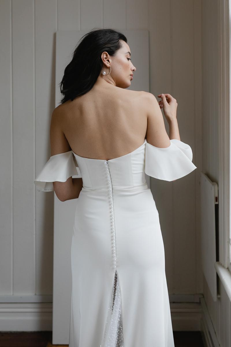 20190902 Hera Couture Corp Studio Day 2 6604Barnett Wedding Dress White