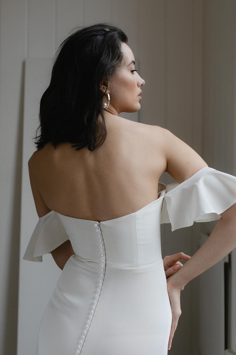 20190902 Hera Couture Corp Studio Day 2 6617Barnett Wedding Dress White
