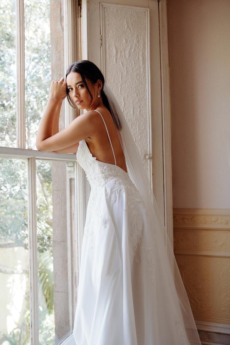 Rosa de Rosa Wedding Dress