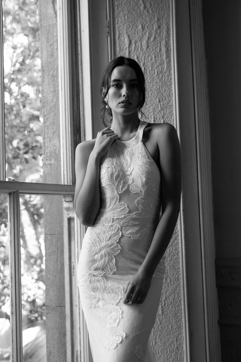 Venezia lace wedding dress