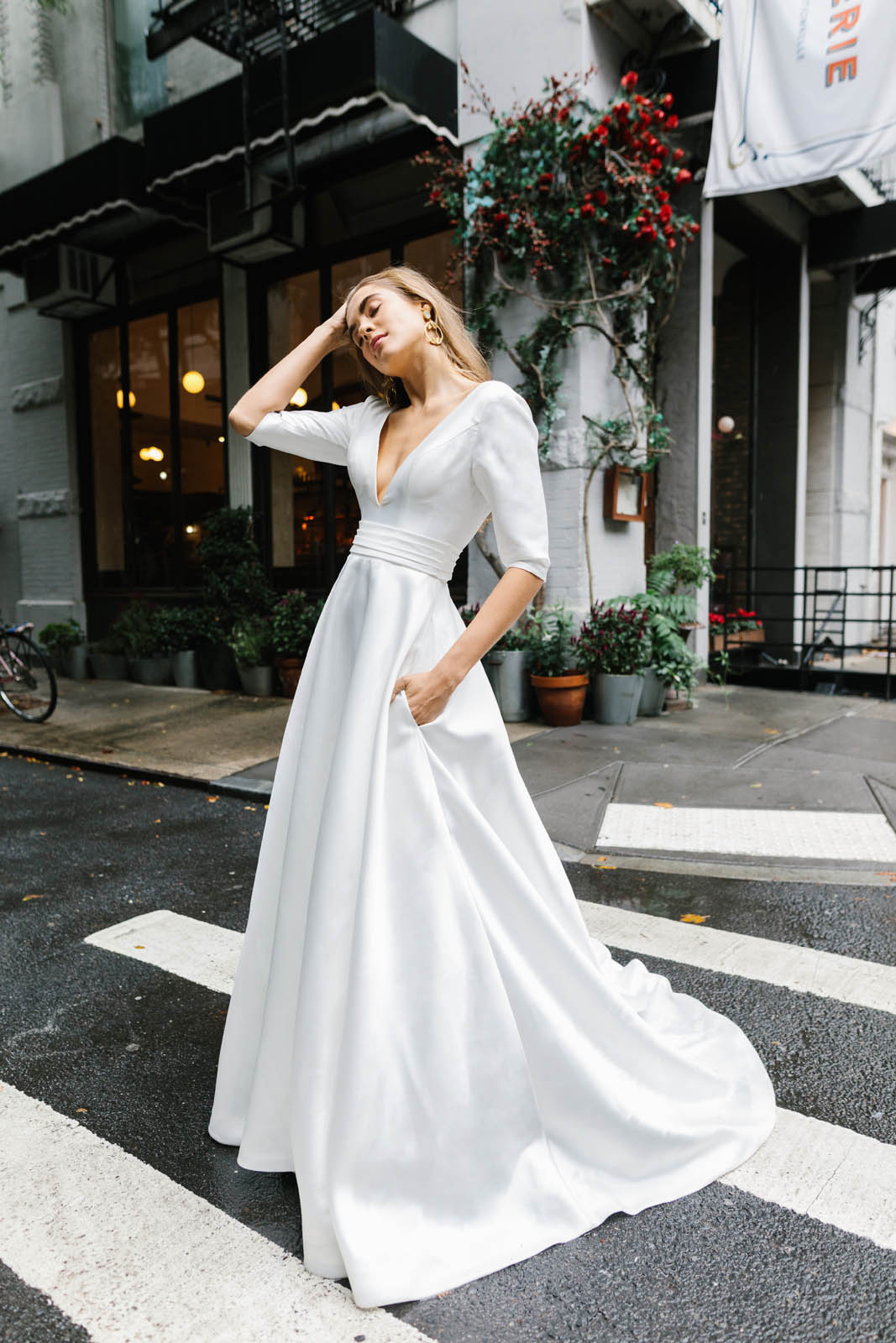 Hera Gracie Wedding Dress Portrait Ny 19