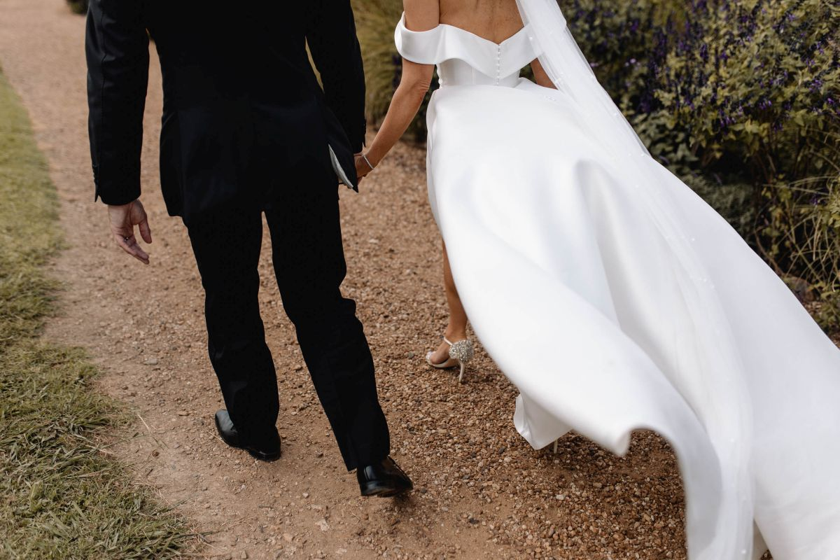15 Bride And Groom Walking