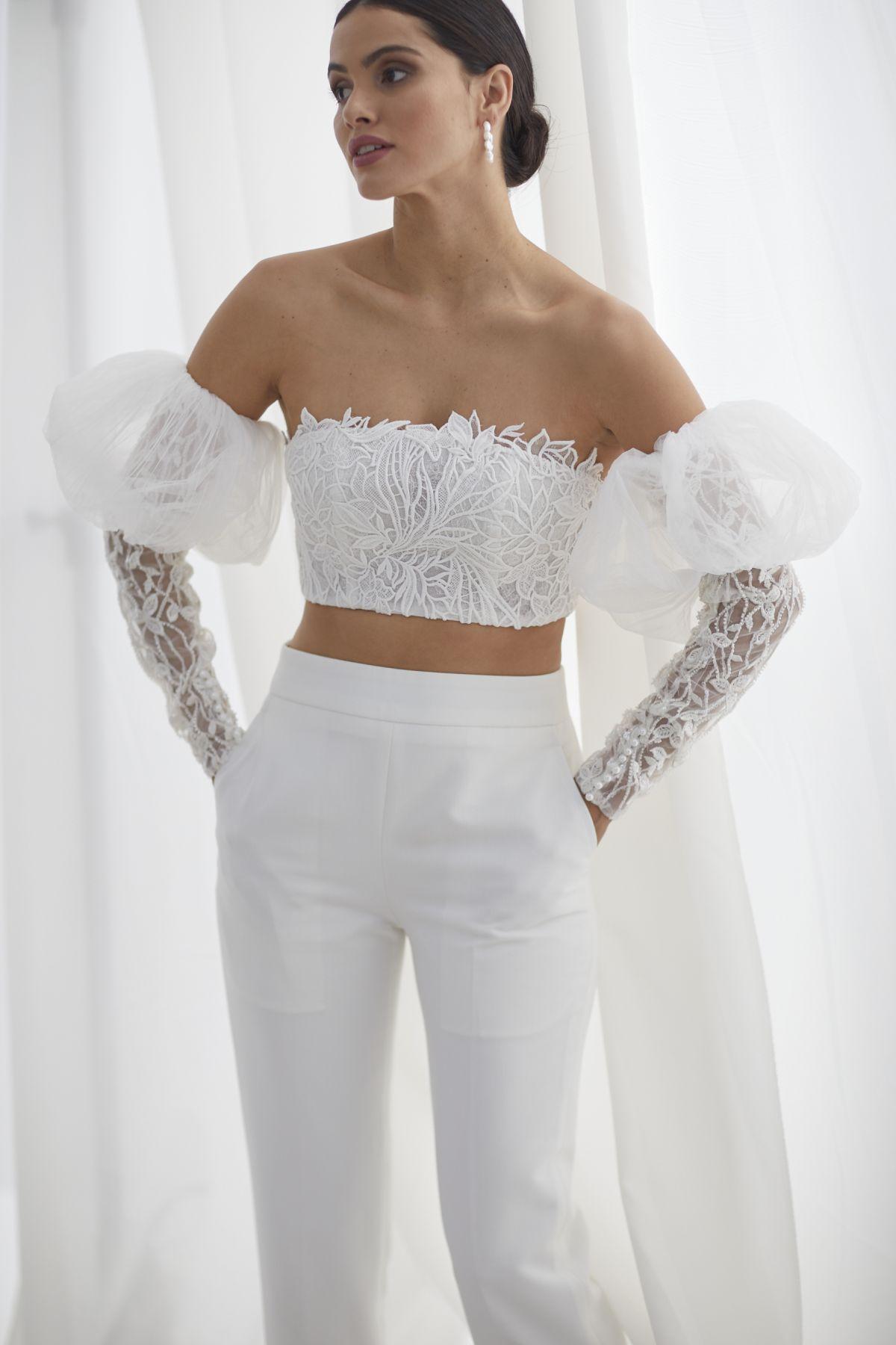 Ada Beaded W Louvre Cigarette Pants Wedding Gown 51_3590