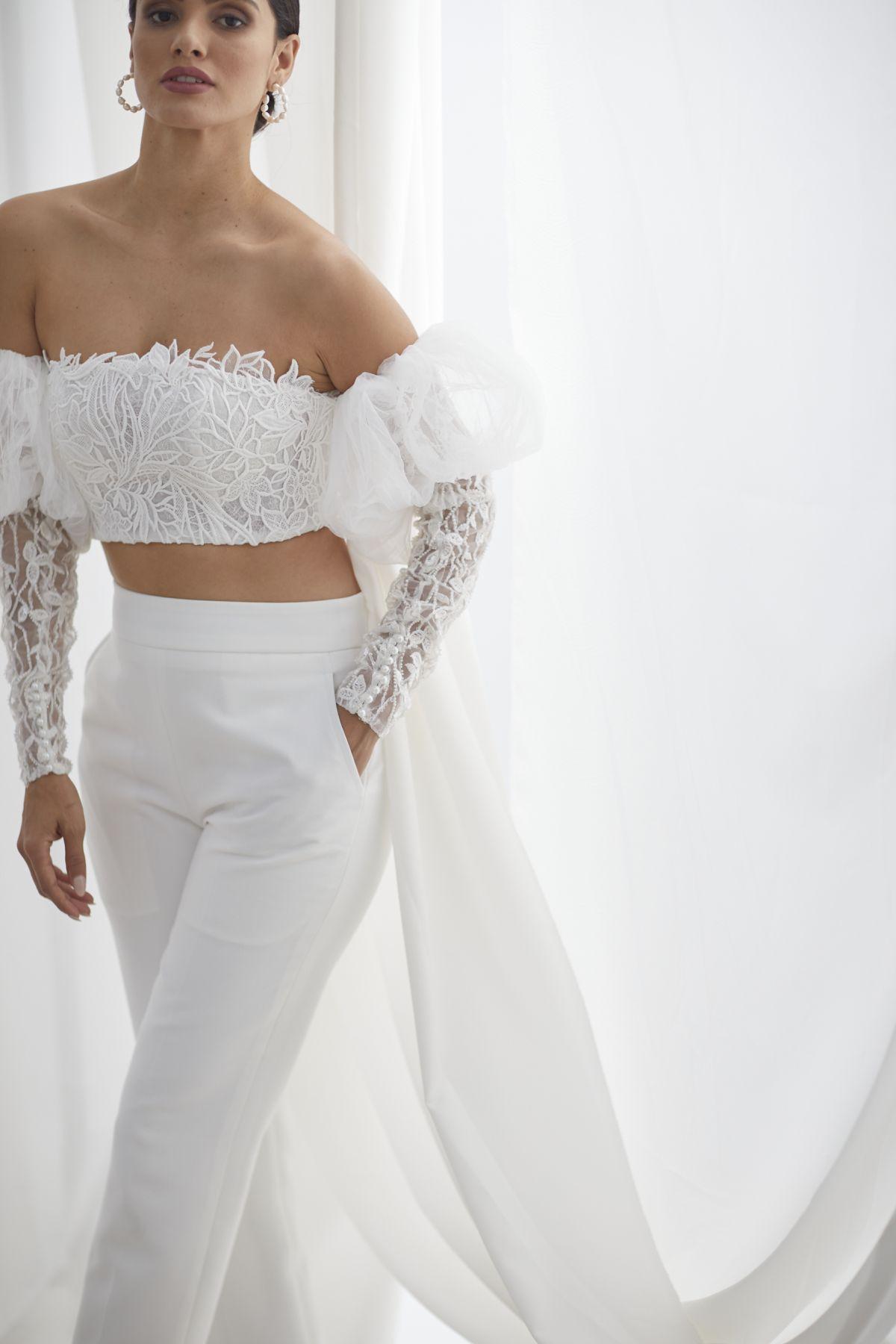 Ada Beaded W Louvre Cigarette Pants Wedding Gown 51_3597