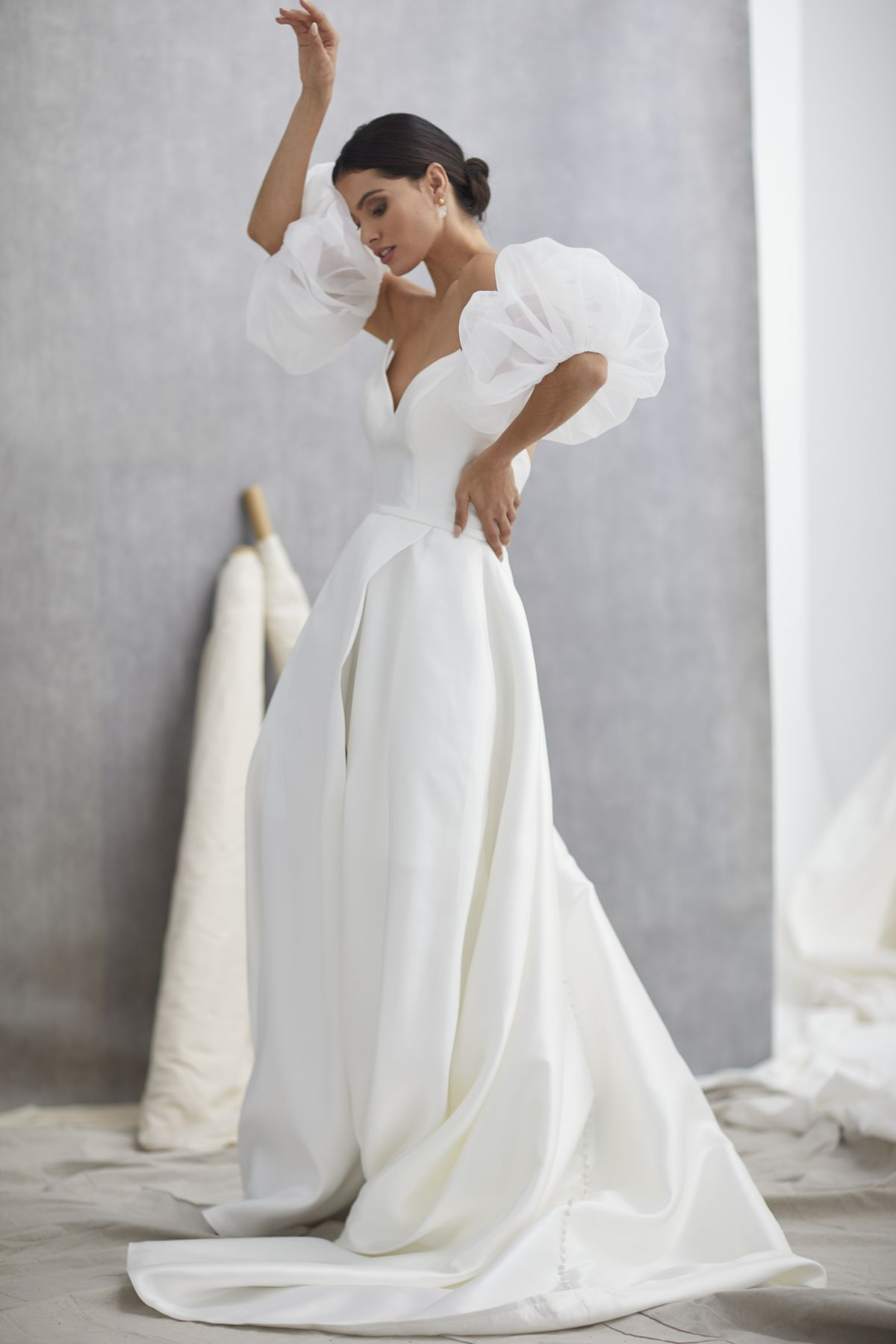Nuvole Sleeves Mikaido Wedding Gown 15_1313