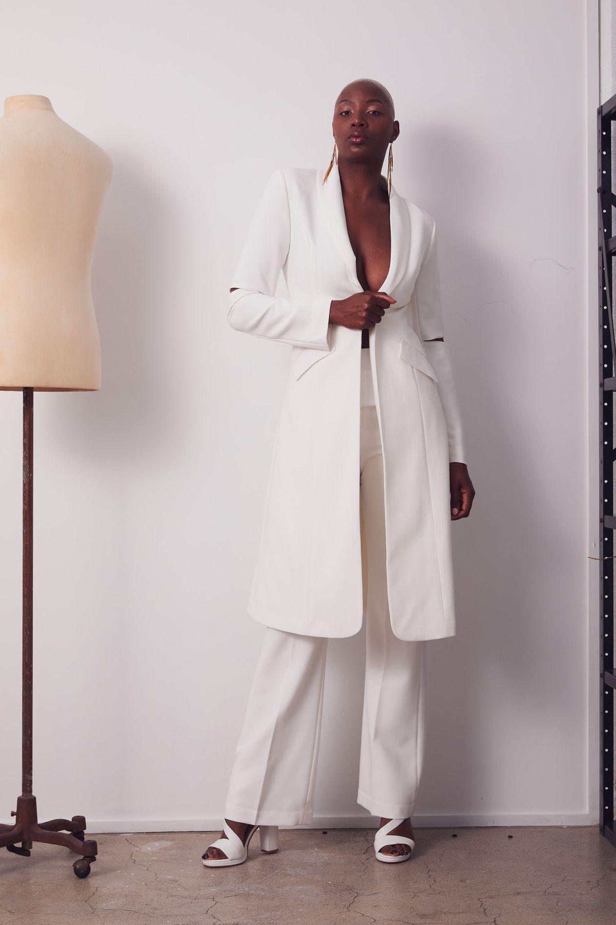 Marx Coat Wedding Gown _18 3668