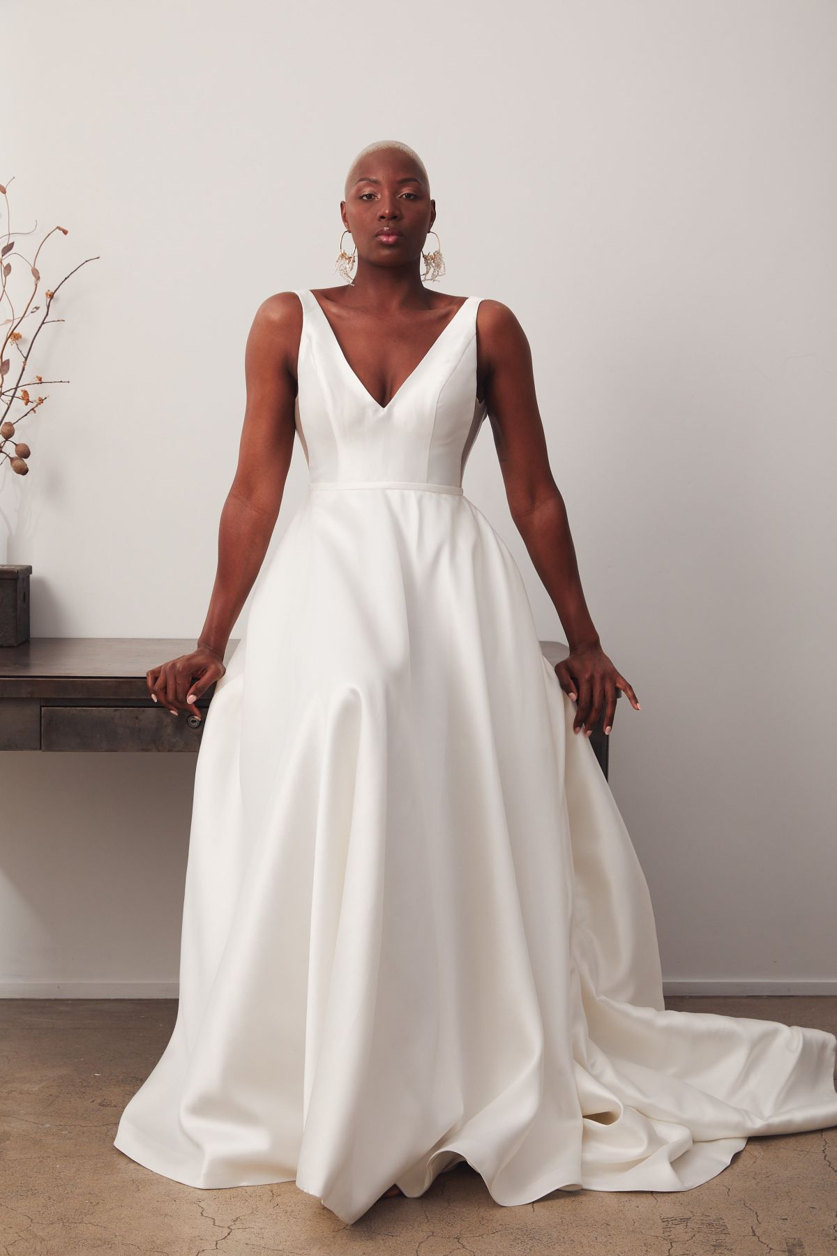 Versailles Curve Wedding Gown _09 1882