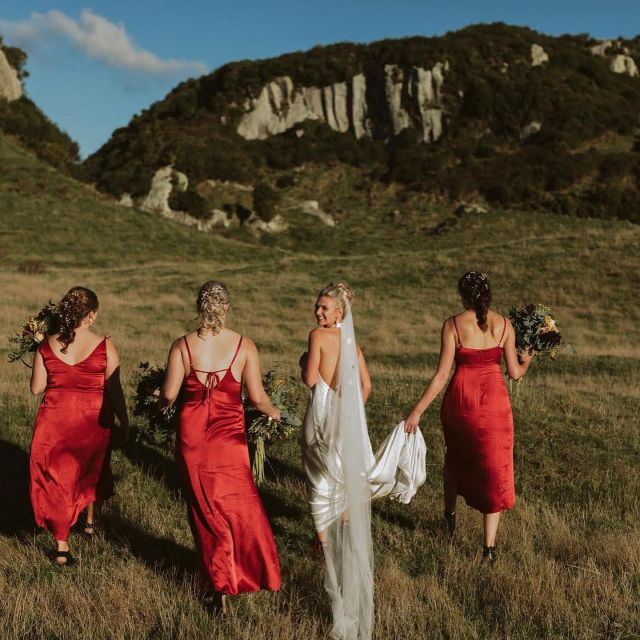 """A big congratulations to our stunning Hera bride  Annika + Marc tying the knot!"""" 🥂  Annika wearing H e r a  l  H a l i Handcrafted in luxurious crush satin.   Styled with H e r a l L a v a n t  V e i l  In her own words ~  """"Hi Guys,  Just wanted to say a big thankyou! I absolutely loved wearing my dress on my wedding day it was stunning and I felt so comfortable and am still getting compliments 3 weeks later!   It really was just the best day! And I was so soo excited about wearing my dress! The best parts were having all our favorite people in one place, being able to call Marc my husband and dancing the night away in my dream dress!   Our photographer was Jessica Lee Photography and she was amazing and helped us so much to bring the day together."""""""