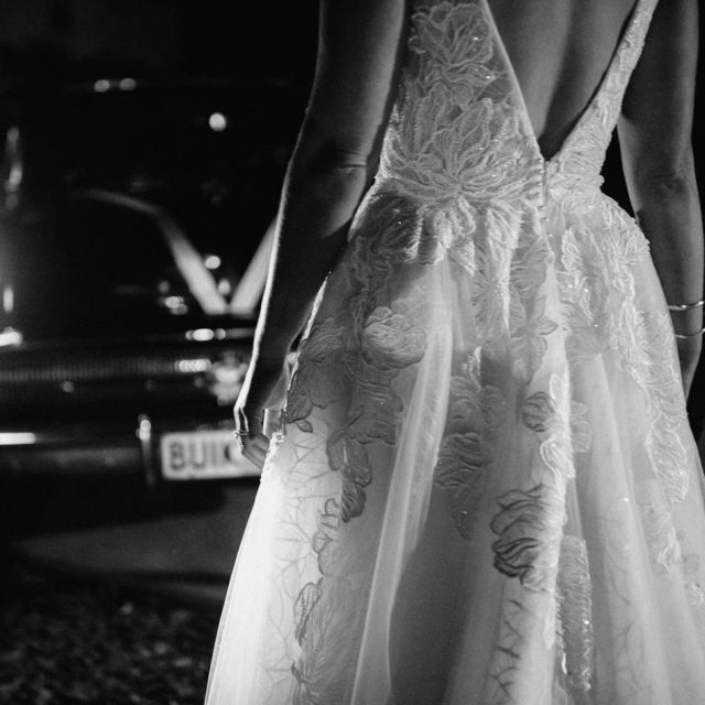 It's all in the details ✨ #HCBride Eleanor wearing the Assandra gown #HeraCouture