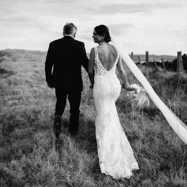A show-stopper ✨ Tamara looking stunning in the Benedetti gown #HeraCouture #HCBrides